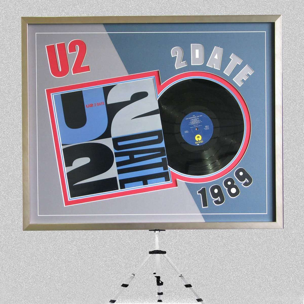 U2 Album 2DATE for an afficianado - The Quality Framing Company & Imaging Services