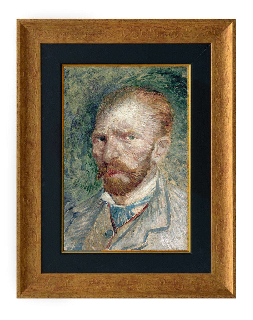 Vincent Van Gogh (Self-Portrait)-qfc.ie