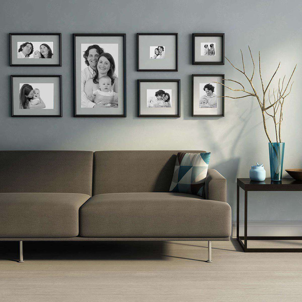 Modern Frame Decor 7 set Frame Collection - The Quality Framing Company & Imaging Services