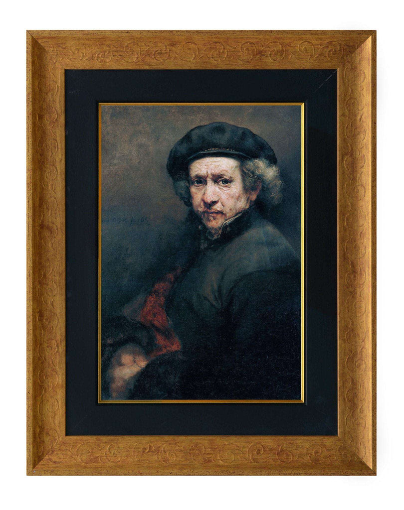 Rembrandt Self-Portrait-qfc.ie