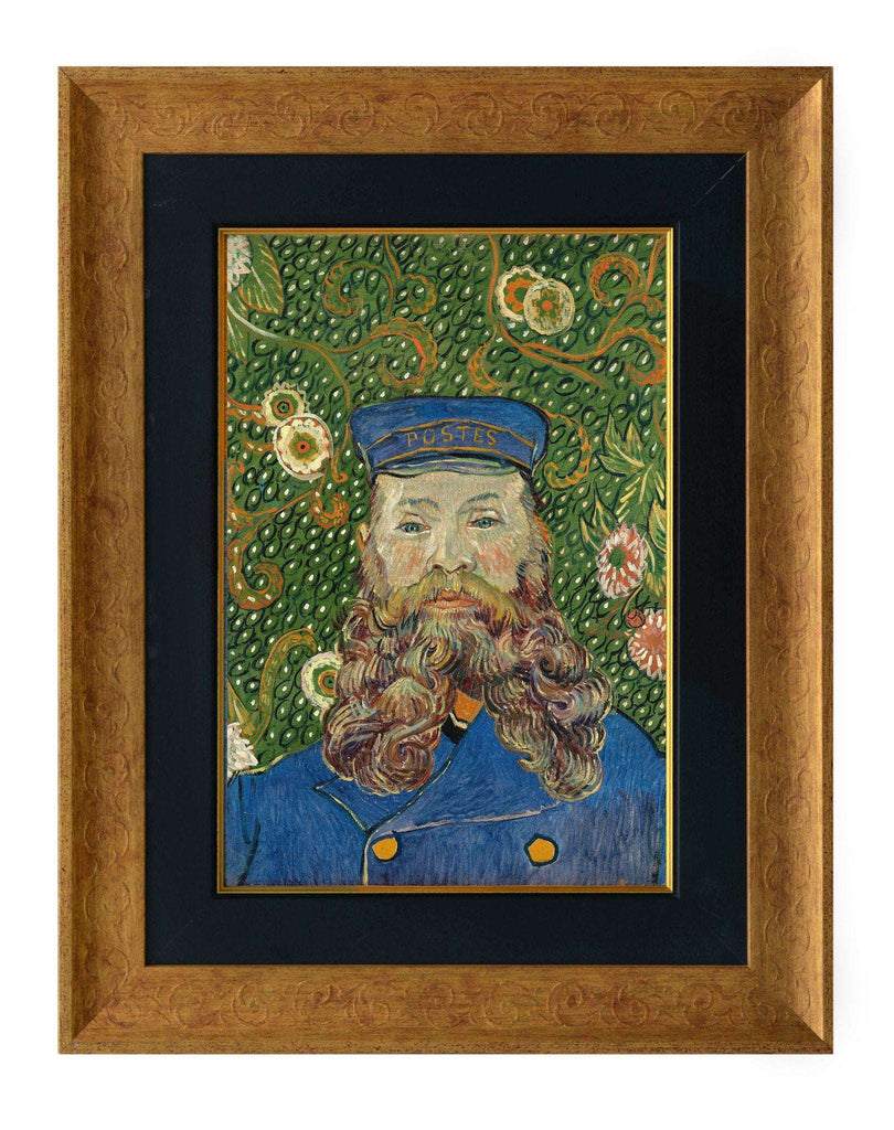 Portrait of Joseph Roulin by Van Gogh-qfc.ie