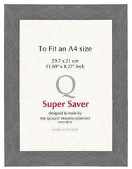 Silver Brushed 40mm Picture Frame I 6 Pack-qfc.ie