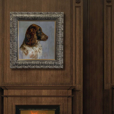 Painting of Sam the Faithful Dog