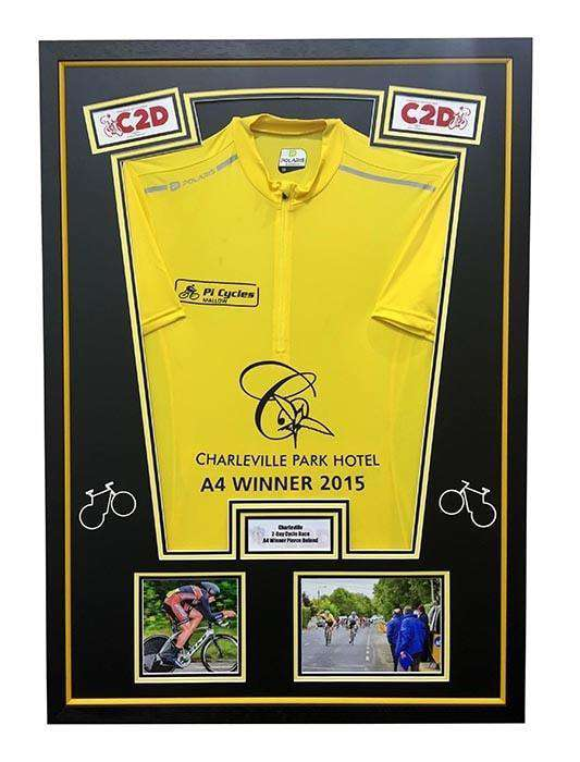 Yellow Racing Jersey - The Quality Framing Company & Imaging Services
