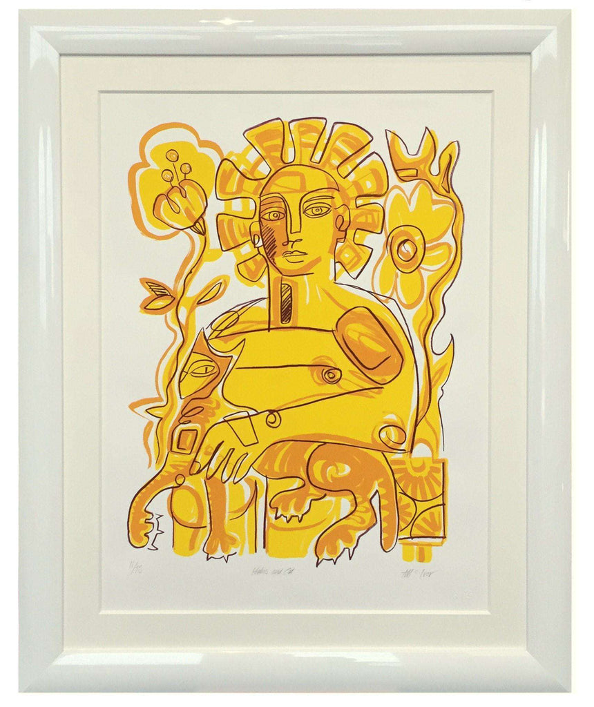 Yellow Woman by Duncan McIvor - The Quality Framing Company & Imaging Services