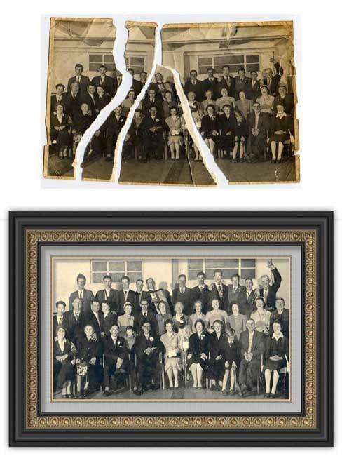 Photo Restoration/Editing - - The Quality Framing Company & Imaging Services