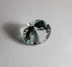 Amazing Natural Faceted 1.89 CT Round Cut Aquamarine - Not Heat Treated - Rutuli
