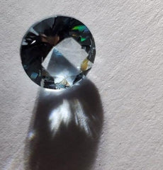 Brilliant Natural Faceted 1.81 CT Round Cut Aquamarine - Not Heat Treated - Rutuli
