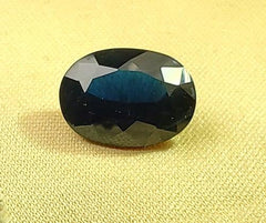 GIA Report 5.6ct Brilliant Cut Loose Natural Blue Sapphire (Untreated) - Rutuli