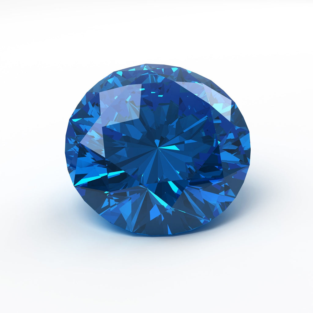 Gorgeous Natural Mid Blue Untreated Loose Sapphire - Rutuli