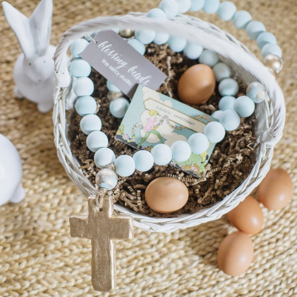 Blessing Beads® in Duck Egg