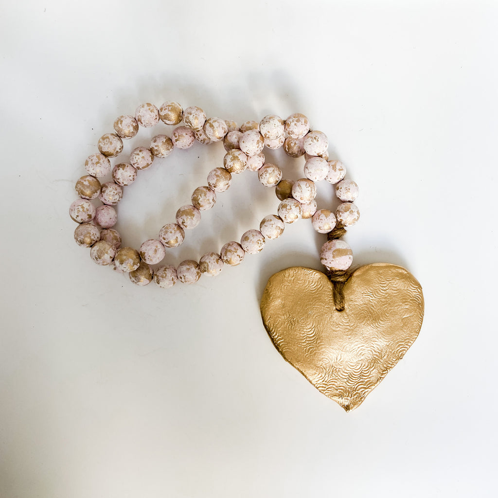 Long Blessing Bead® Hearts