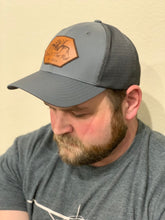 Load image into Gallery viewer, Performance Trucker Hat With Leather Accent