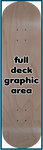 Skateboard - Full Deck Graphic