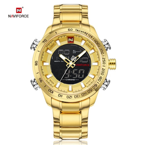 Stainless Gold Plated Japan made Quartz for Daily Casual Fashion