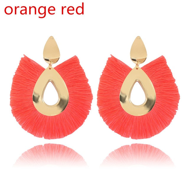 Ellaine Tassel Earrings
