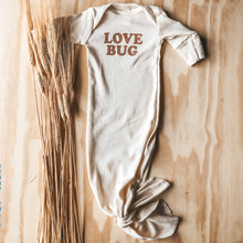 Load image into Gallery viewer, Love Bug Knotted Gown - Clay