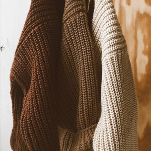 Knit Sweater - Oat