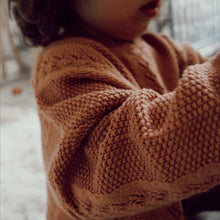 Load image into Gallery viewer, Oversized Knit Sweater -Rose