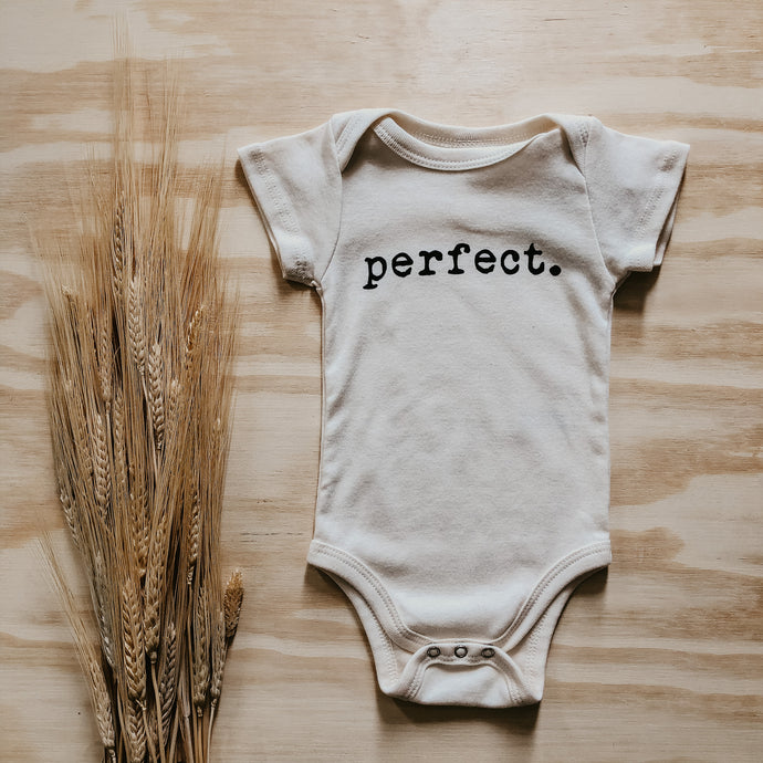 Perfect -Organic Bodysuit-