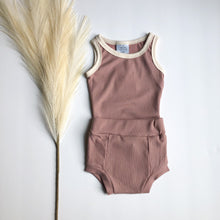 Load image into Gallery viewer, Orcas Lucille Bodysuit- Pale Mauve
