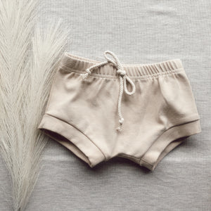 Cotton shorts - Oat