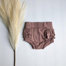 Load image into Gallery viewer, Ocras Lucille Ruffle Bloomer- Pale Mauve