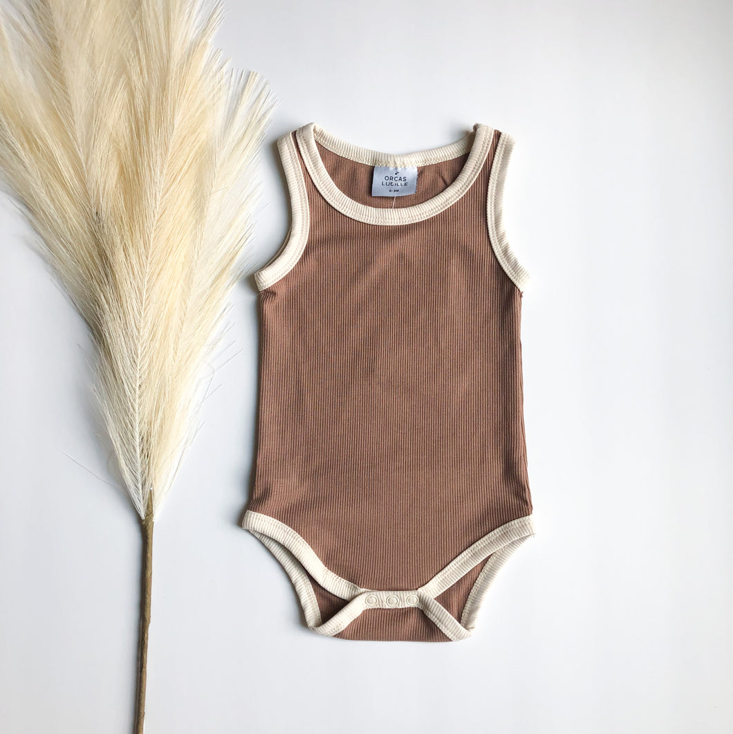 Orcas Lucille Bodysuit- Chocolate