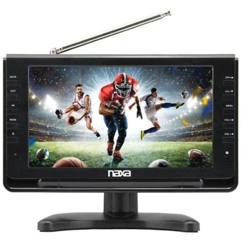 "10"" Portable TV & Digital Multimedia Player with Car Package"