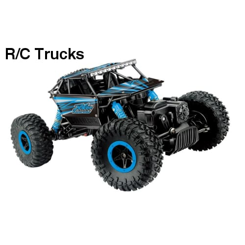 1:18 Scale RC Off Road Rock Crawler - R/C Trucks