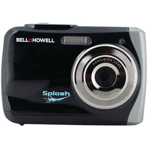 12.0-Megapixel WP7 Splash Waterproof Digital Camera (Black) - Portable & Personal Electronics
