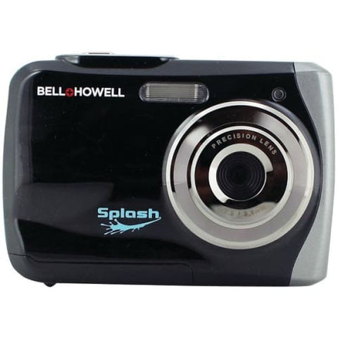 12.0-Megapixel WP7 Splash Waterproof Digital Camera (Black)