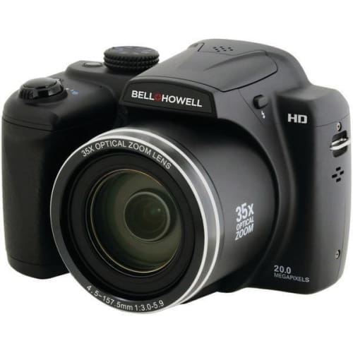 20.0-Megapixel B35HDZ Digital Camera with 35x Optical Zoom - Portable & Personal Electronics