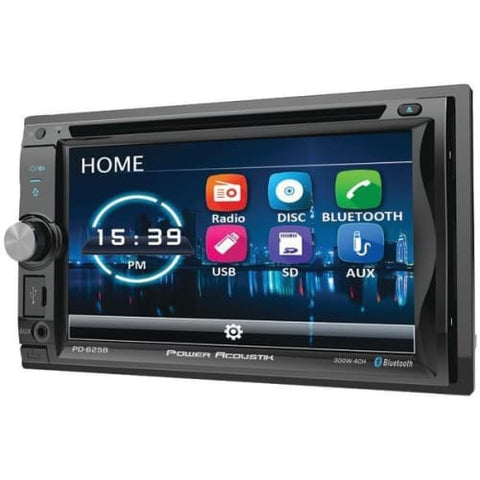 "6.2"" Incite Double-DIN In-Dash Detachable LCD Touchscreen DVD Receiver"