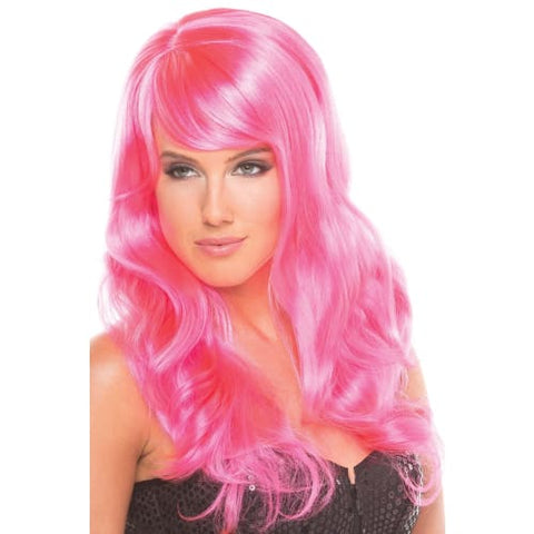 BW095HP Burlesque Wig Hot Pink