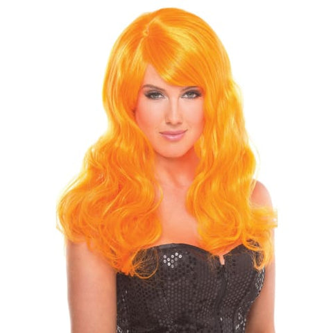 BW095OR Burlesque Wig Orange