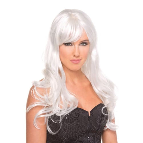 BW095WT Burlesque Wig White