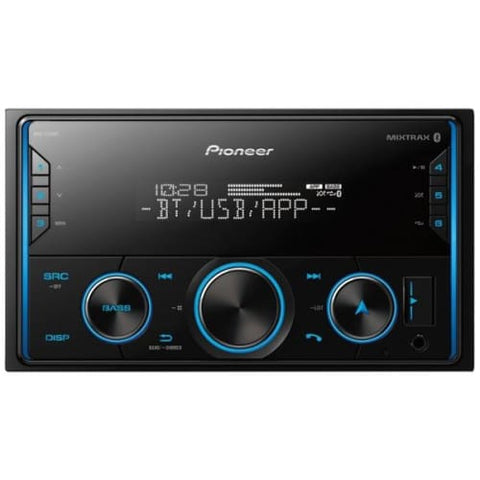 Double-DIN In-Dash Digital Media Receiver with Bluetooth(R)