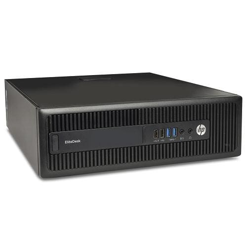 Hp Elitedesk 705 G2 Fusion Quad-core Pro A10-8750b 3.6ghz 8gb 500gbno Os Small Form Factor Pc W-dual Displayport - Desktop Pcs