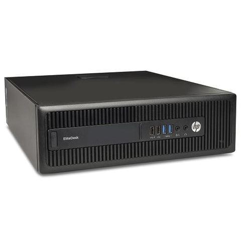 Hp Elitedesk 705 G2 Fusion Quad-core Pro A10-8750b 3.6ghz 8gb 500gbno Os Small Form Factor Pc W-dual Displayport
