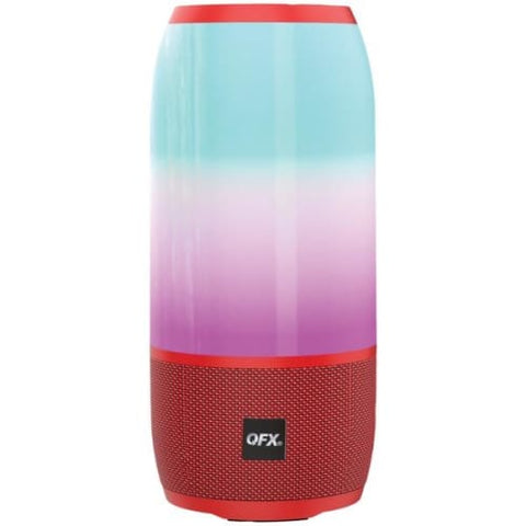 Portable Rechargeable Bluetooth(R) Speaker (Red)