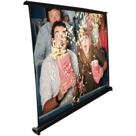 Retractable Pull-out-Style Manual Projector Screen (40-Inch)