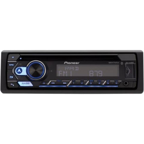 Single-DIN In-Dash CD Player with Bluetooth(R)