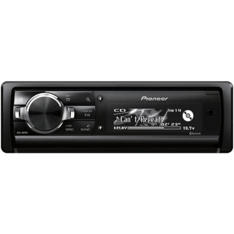 Single-DIN In-Dash CD Receiver with Bluetooth(R)