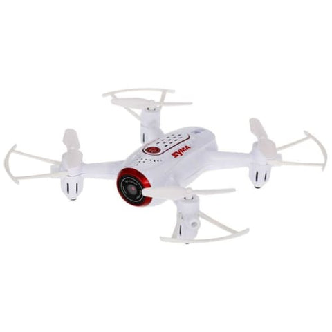 Syma X22W Wifi FPV Pocket Drone HD Camera (White)