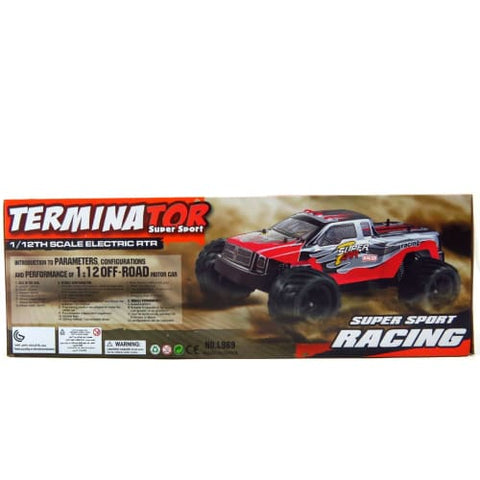 WL969 2.4G 1:12 Scale RC Cross Country Racing Car (Red)