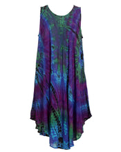 Load image into Gallery viewer, Tie Dye Dress Mudmee Dye Style