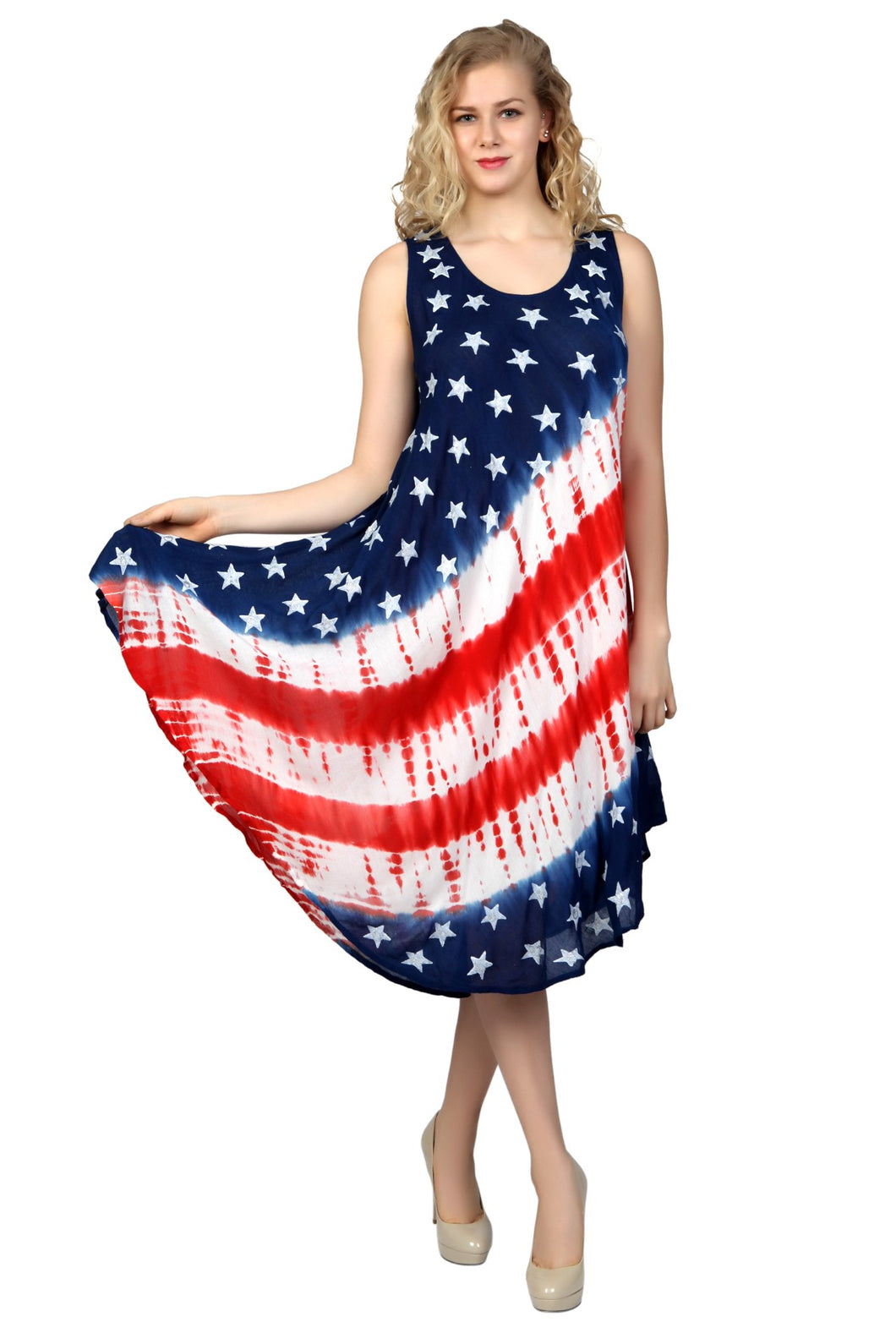 Patriotic American Flag Sundress