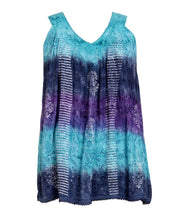 Load image into Gallery viewer, Colorful Sleeveless Palm Tree Tie Dye Top