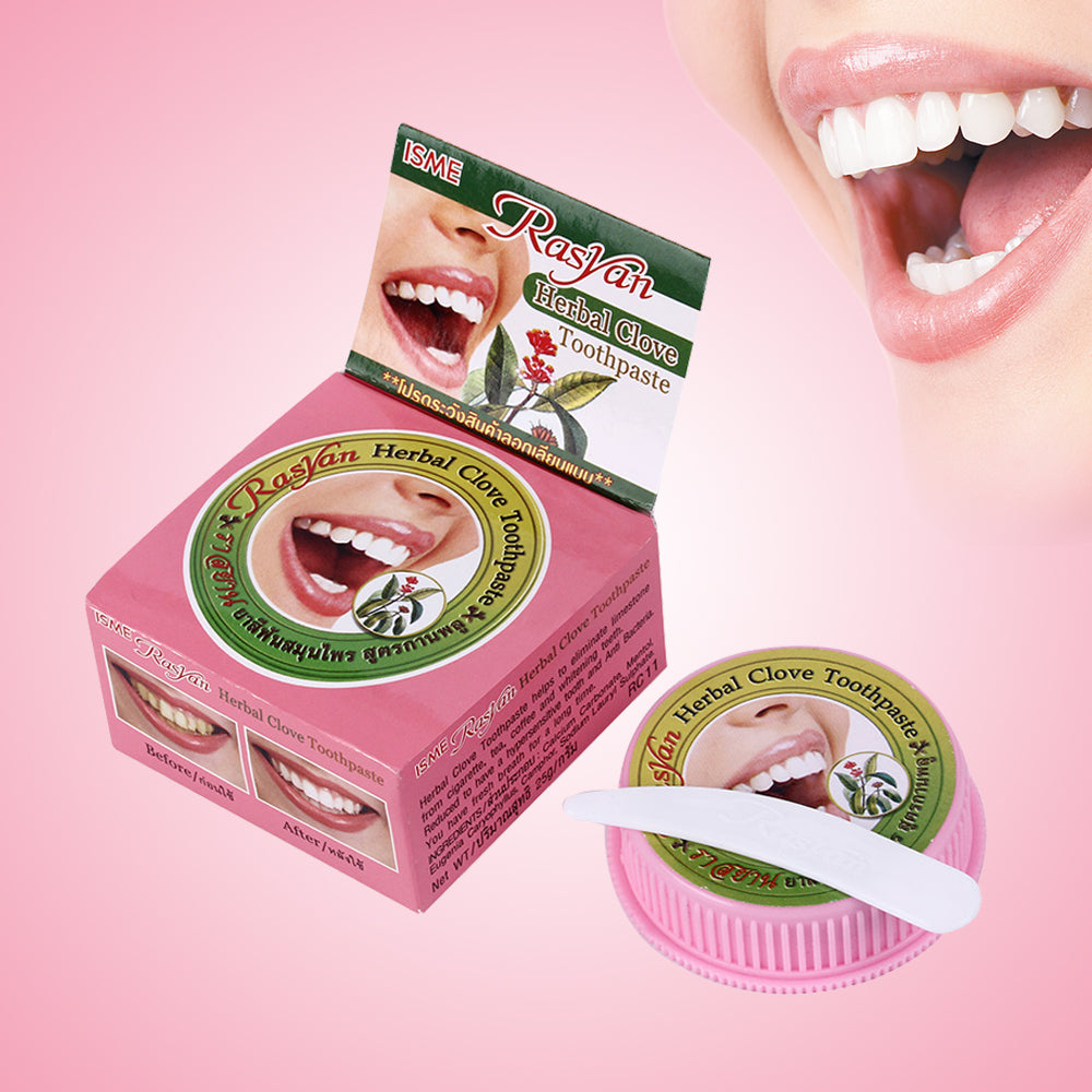 Natural Herbal Clove Toothpaste Tooth Whitening Toothpaste Removes Stains